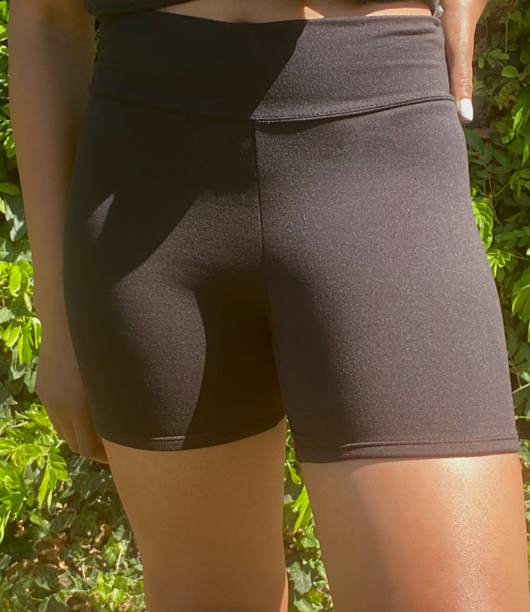 Hiker Biker Shorts(Black)