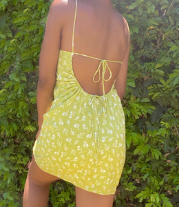 Mike Wazowski Dress(Lemon Lime)