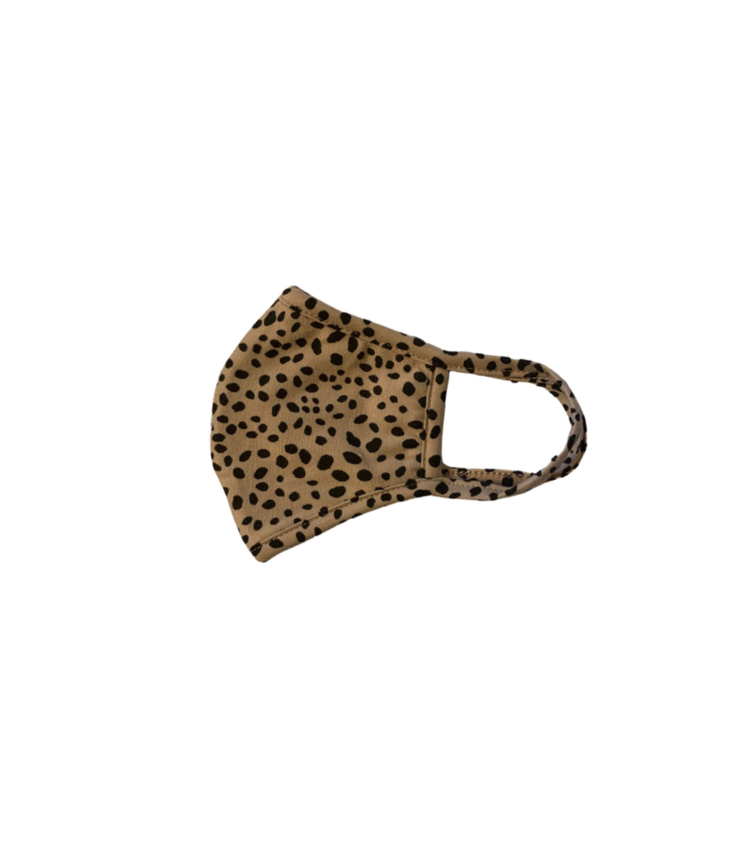 Animal Print Mask(Tan)