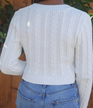 Load image into Gallery viewer, Noel Knitted Sweater(White)