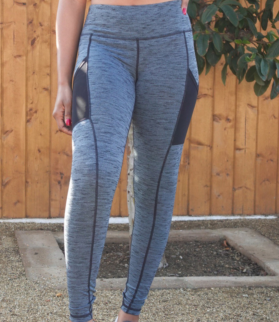 Willow Activewear Leggings(Grey)