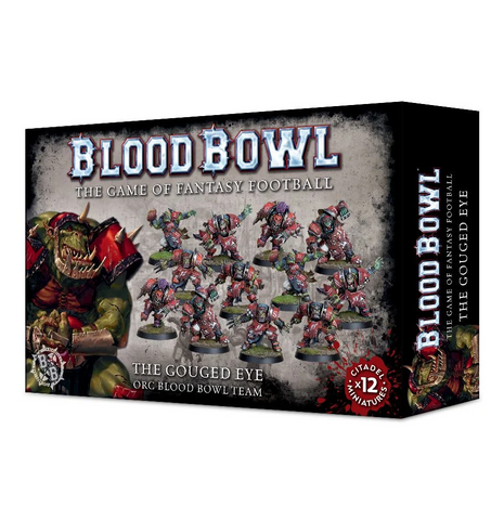 The Gouged Eye Orc Blood Bowl Team - MiniHobby
