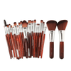 Markoon Brown Silver Perle Makeup Brushes Set (22 pcs)
