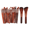 Markoon Just Brown Perle Makeup Brushes Set (22 pcs)