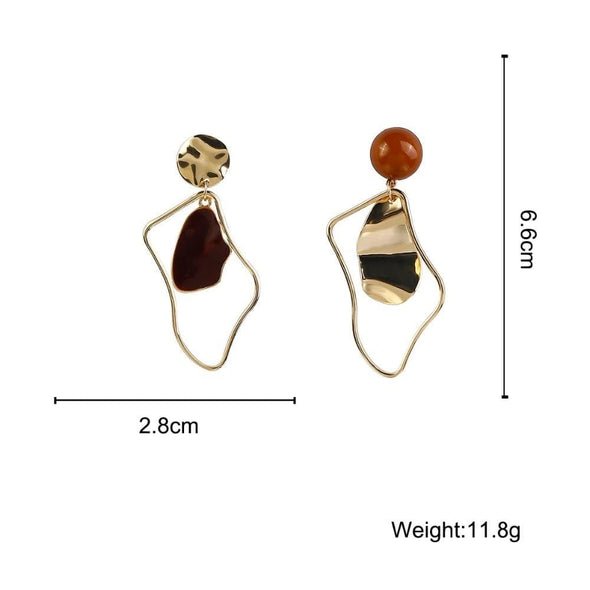 MarkOoOn Ava Geometric Earrings