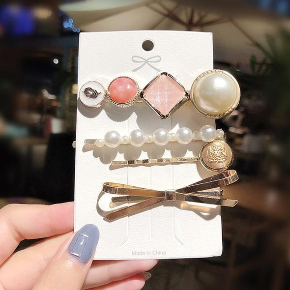 Markooon Set 10 Celeste Hair Clips, Collection 3