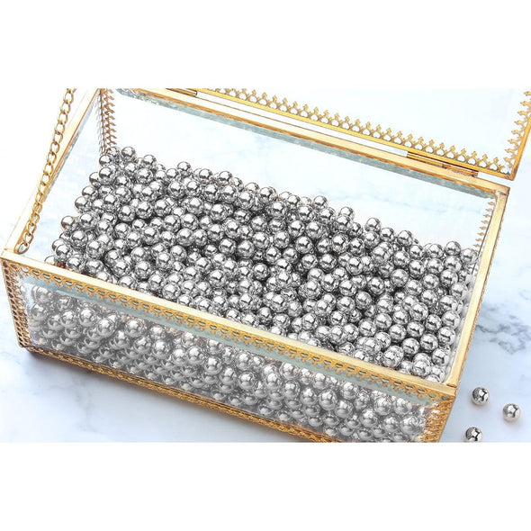 Markooon Silver 100g Crystal Makeup Brushes Holder