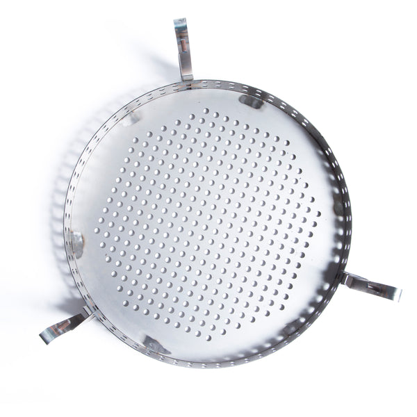 Add On BBQ Basket & Grill Plate for Upright 45 Gallon Drum