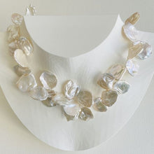 Load image into Gallery viewer, Garden Flower Petal Pearl Necklace