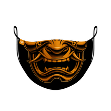 Load image into Gallery viewer, Oni Samurai Mask
