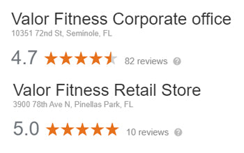 Valor Fitness Reviews