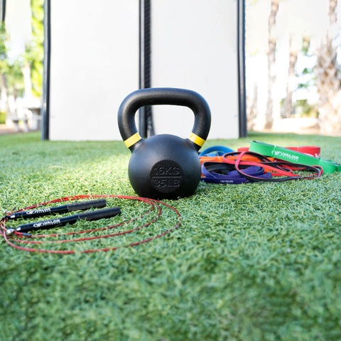 Valor Fitness KIT-KB1 | Home Gym Kettlebell Kit