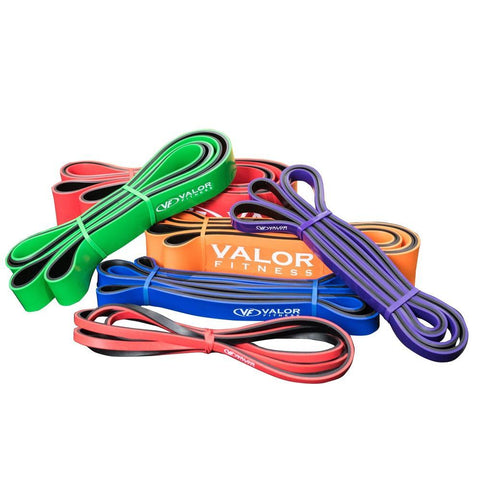 Valor Fitness PRB | Resistance Bands (XS-XXL) - Valor Fitness