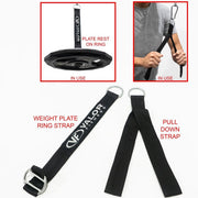 Valor Fitness PY-1attB | Portable Cable Station w/ Handle Bundle - Valor Fitness