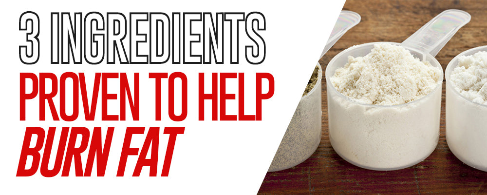3 Ingredients Proven To Help Burn Fat