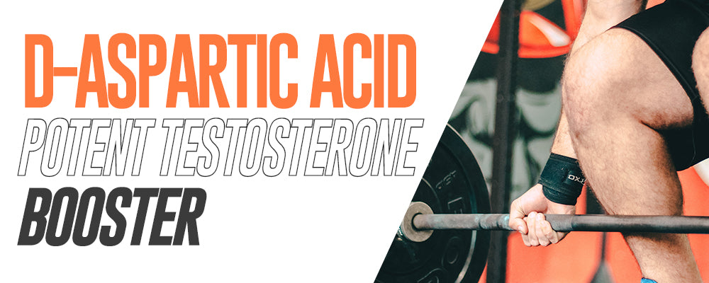 D-Aspartic Acid: Potent Testosterone Booster