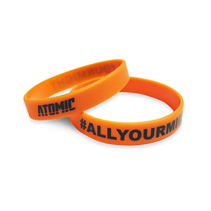 Atomic Silicone Wristbands