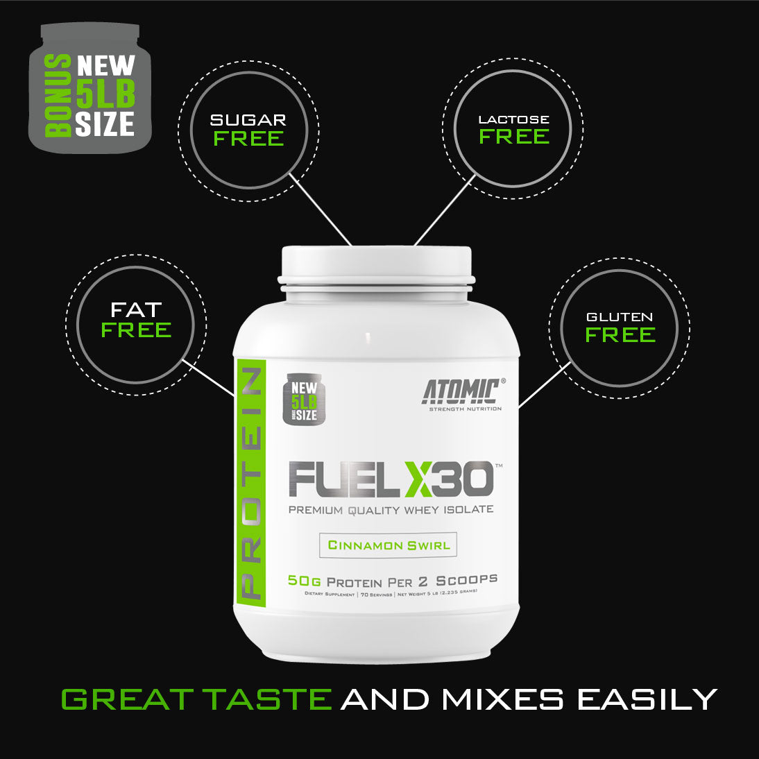 FUEL X30 Protein - 5 LBS