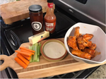 Ellen's Super Bowl Wings with Santa Barbara Hives honey