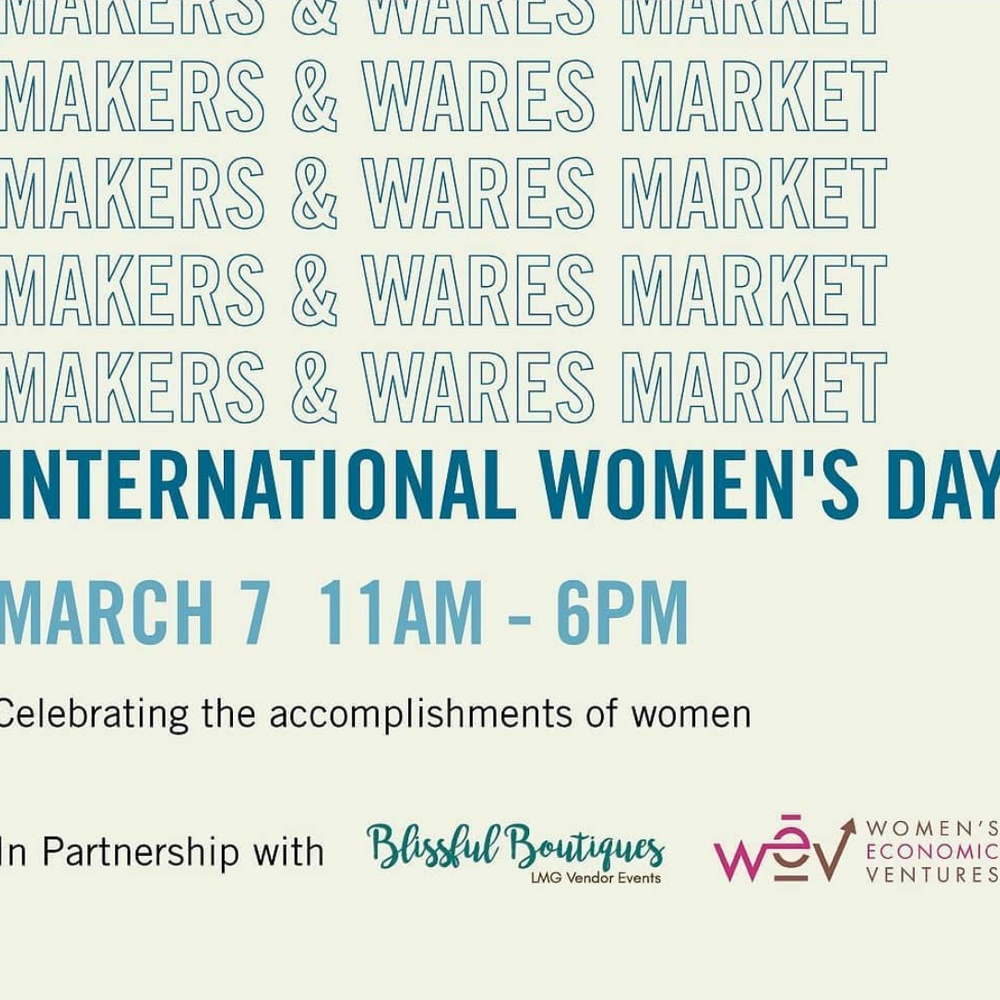 Celebrate International Women's Day with Santa Barbara Hives on March 7th at Paseo Nuevo in Santa Barbara!