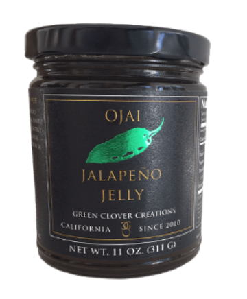 Ojai Jalapeño Jelly by Green Clover Creations