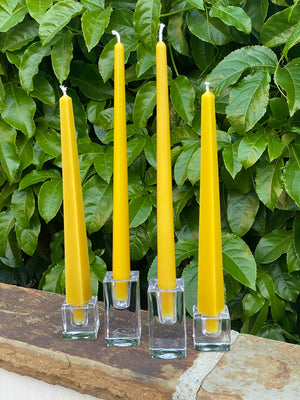 Obelisk Beeswax Taper Candles