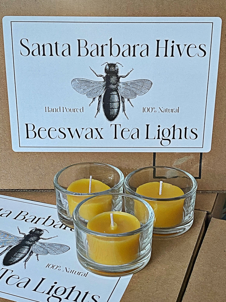 Load image into Gallery viewer, Beeswax Tea Light Candles