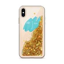 Load image into Gallery viewer, Little Dune Sparkly Liquid Glitter Phone Case