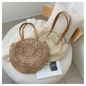 Casual Rattan Women Shoulder Bag