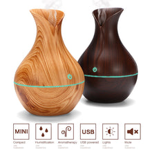 Load image into Gallery viewer, 130ML USB LED Ultrasonic Aroma Humidifier & Essential Oil Diffuser
