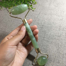 Load image into Gallery viewer, 2 in 1 Green Jade Roller and Gua Sha Tools Set