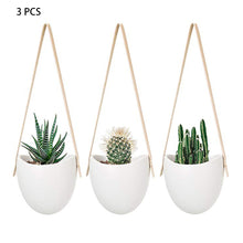 Load image into Gallery viewer, 3 Piece Set Of Nordic Geometric Indoor Flower Hanging Pot