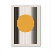 Load image into Gallery viewer, Bauhaus Exhibition Geometric Canvas Print