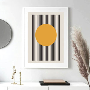 Bauhaus Exhibition Geometric Canvas Print