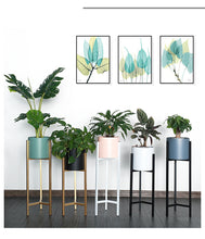 Load image into Gallery viewer, Nordic Metal Plant Stand