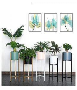 Nordic Metal Plant Stand