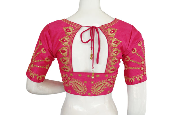 Designer Embroidered Readymade saree blouse, Indian Readymade blouse,Bridal blouse, Crop top