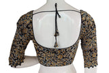 Kalamkari 3/4th Sleeves Readymade saree blouse , Indian Cotton Readymade blouse