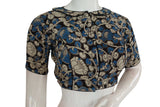 Kalamkari Peter Pan Collared Readymade saree blouses, Indian Readymade blouse ,Crop top ,Tunic top