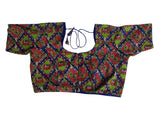 Kalamkari Plus Size Readymade Saree Blouses