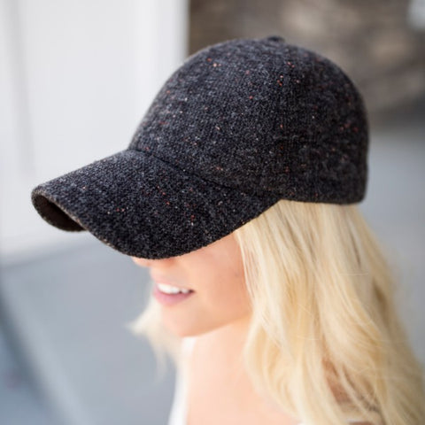 Tweed Ball Cap