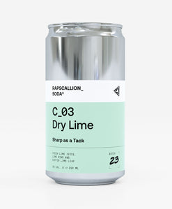 Dry Lime Soda | 12 Can Pack | C_03