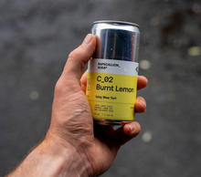 Load image into Gallery viewer, Burnt Lemon Soda | 12 Can Pack | C_02