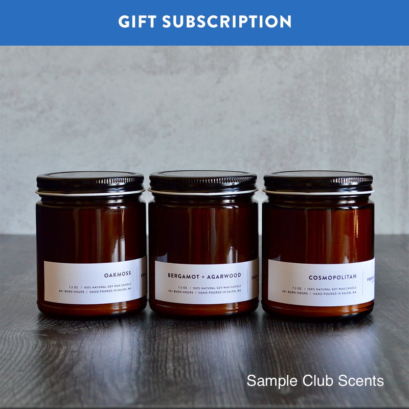 3-MONTH SUBSCRIPTION GIFT (TRIO)