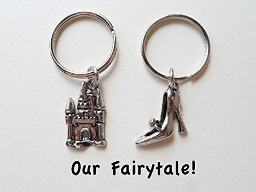 Castle and Shoe Keychain Set