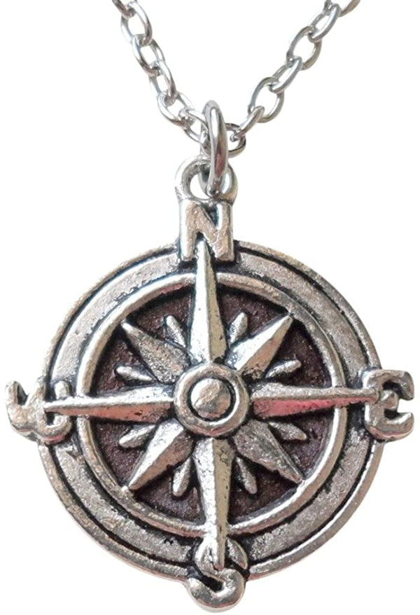 Compass Necklace - I'd Be Lost Without You