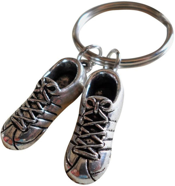 Sneaker Shoes Keychain - No One Could Fill Your Shoes