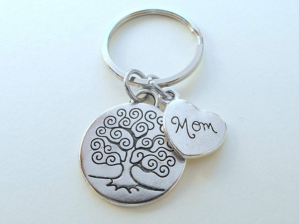Mom Tree Keychain for Mom, Mother's Day Gift
