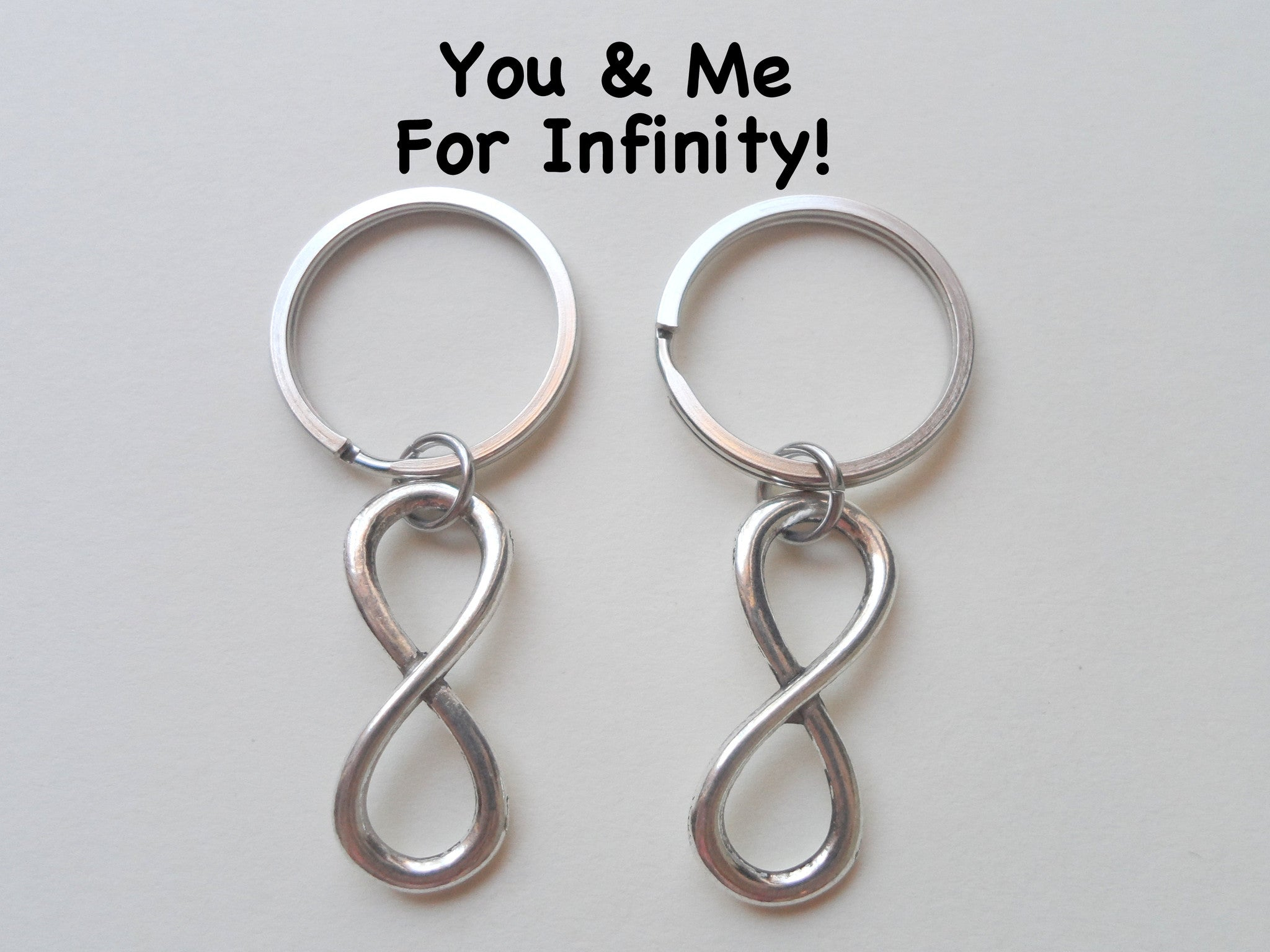 Double keychain set infinity symbol keychain you me for infinity double keychain set infinity symbol keychain you and me for infinity couples keychain set biocorpaavc Image collections