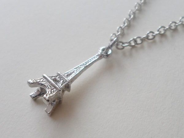 Eiffel Tower Charm Necklace